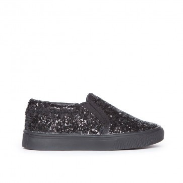 AKID SLIP ON LIV BLACK