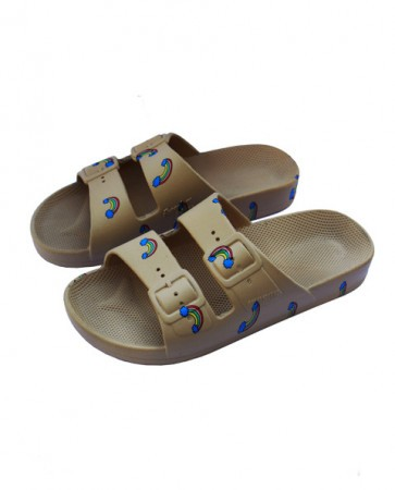 BANDY BUTTON MOSES SLIPPERS