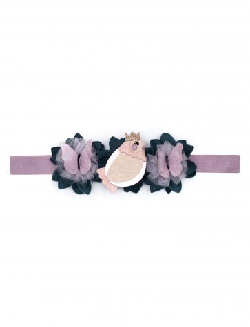 BIRD BUTTERFLY STRETCH HAARBAND