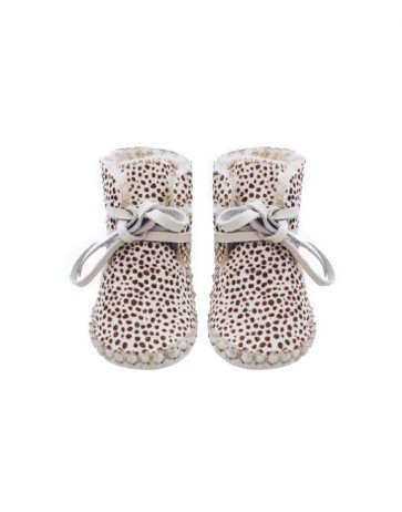 SPECIAL EDITION BAJA BOOTS - SALTED CREAM DOTS