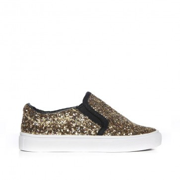 AKID SLIP ON LIV GOLD