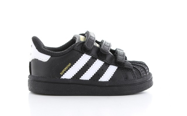 adidas superstar kind zwart wit