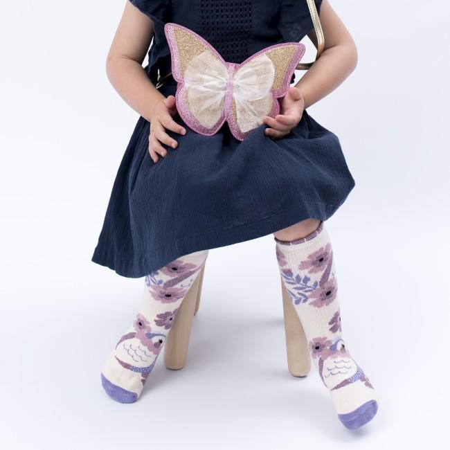 Billy Loves Audrey Princess Bird Midi Socks Clothing