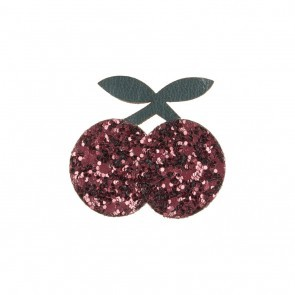 GLITTER CHERRIES HAARCLIP