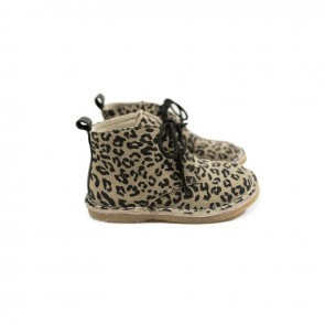MOCKIES BOOTS LEOPARD GREY