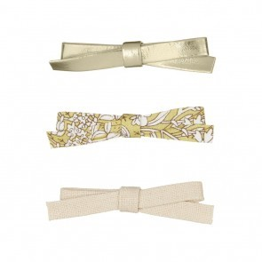 SUMMER GARDEN JEANIE BOW CLIPS