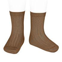 Condor Rib sokken toffee www.littlelegends.nl