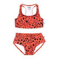 CARLIJNQ SPOTTED ANIMAL BIKINI
