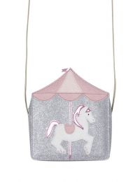 BILLY LOVES AUDREY CAROUSEL HORSE BAG