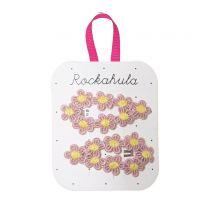 Rockahula Crochet flower clip