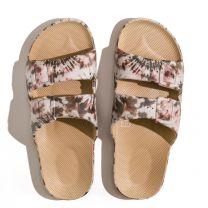 Waterbestendige, milieuvriendelijke Freedom Moses Joplin Camel slippers