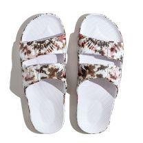 Waterbestendige, milieuvriendelijke Freedom Moses Joplin White slippers