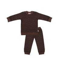 Little Indians Waffle Pyjama Leopard www.littlelegends.nl