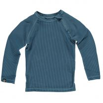 UV SHIRT OCEAN RIBBED LONG SLEEVE