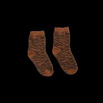 Unisex basic sokken tiger Sproet en sprout www.littlelegends.nl