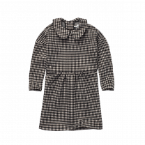SPROET & SPROUT - DRESS COLLAR BLOCK CHECK