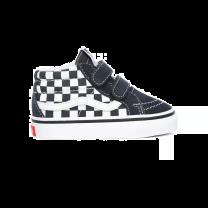 Vans Sk8 Mid Reissue V Checkerboard Grijs