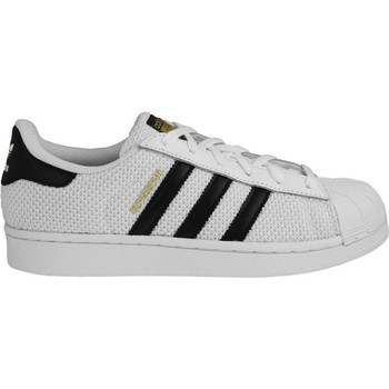 ADIDAS SUPERSTAR BLACK STRIPE