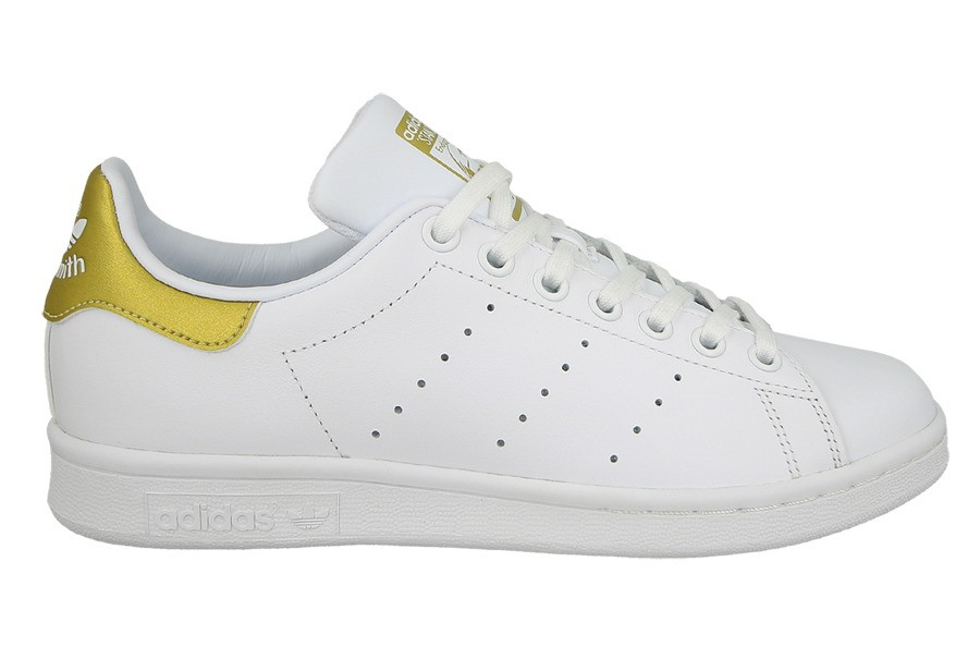 ADIDAS STAN SMITH WHITE-GOLD