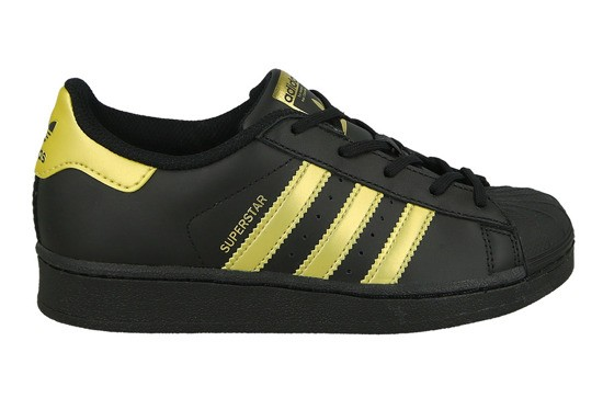 ADIDAS SUPERSTAR BLACK-GOLD