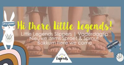 LITTLE LEGENDS X FREEDOM MOSES, DAD & SON SOKKEN EN NIEUWE ITEMS VAN SPROET & SPROUT